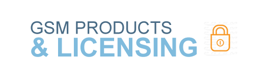 GSM Products & Licensing